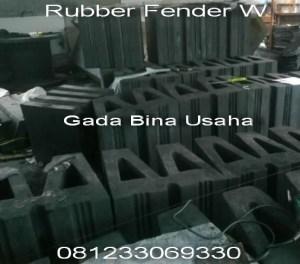 W type Rubber Fender